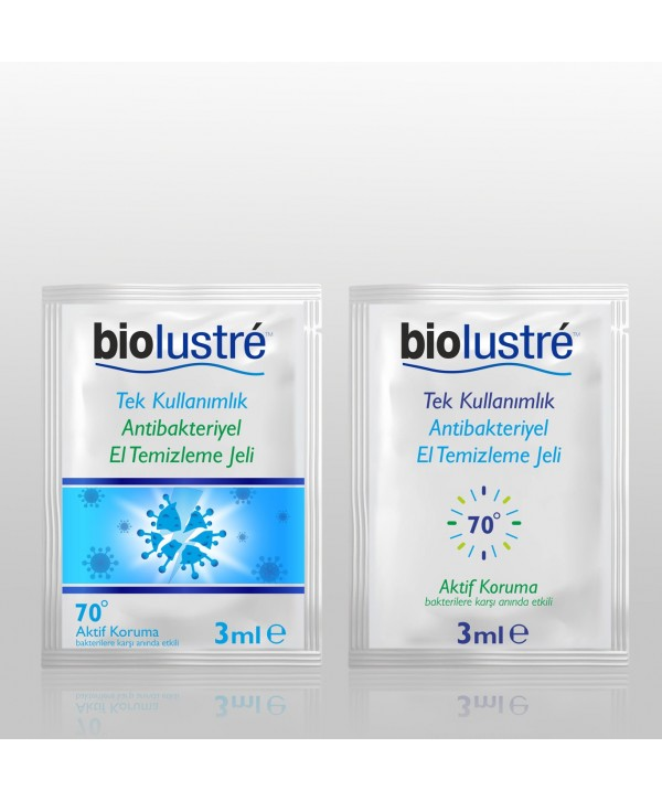 BIOLUSTRE 3 ML GEL FROM DISINFECTANT